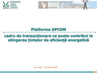 Platforma OPCOM