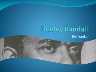 Dudley Randall