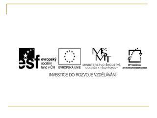 EU ICT2/1/1/12  Člověk a svět práce – 4.,5. ročník