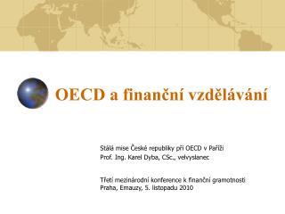 OECD a finanční vzdělávání