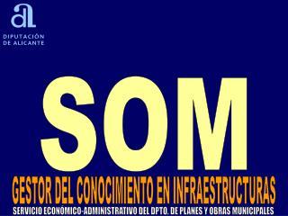 SERVICIO ECONÓMICO-ADMINISTRATIVO DEL DPTO. DE PLANES Y OBRAS MUNICIPALES