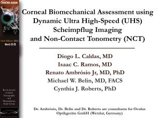 Corneal Biomechanical Assessment using Dynamic Ultra High-Speed UHS  Scheimpflug Imaging  and Non-Contact Tonometry NCT