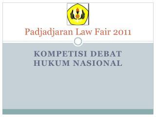 Padjadjaran Law Fair 2011