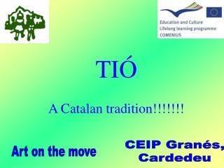 TI� A Catalan tradition!!!!!!!