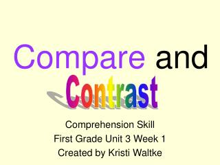 Compare and