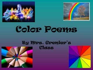 Color Poems