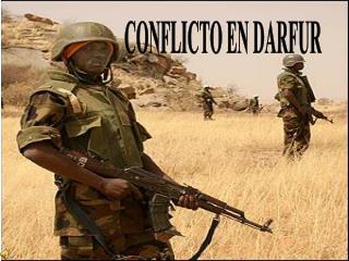 CONFLICTO EN DARFUR