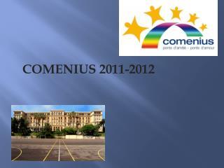 COMENIUS 2011-2012