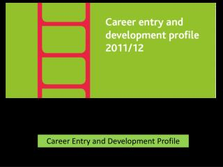 Career Entry and Development Profile