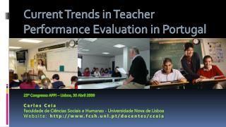 Current Trends in Teacher Performance Evaluation in Portugal
