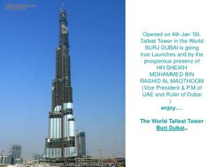 Opened on 4th Jan '09,
