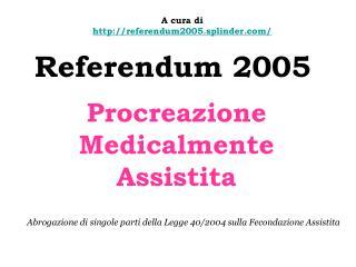 Referendum 2005