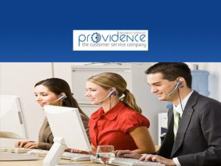Providence Business Services - Business to Business Customer Service Company - Customer Service Contact Center