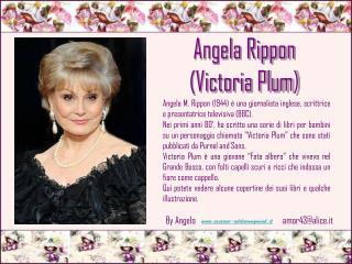 Angela M.  Rippon  (1944) è una giornalista inglese, scrittrice e presentatrice televisiva (BBC).