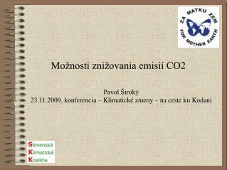 Možnosti znižovania emisií CO2