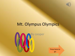 Mt. Olympus Olympics