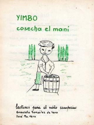 T r a b a j o Buen tiempo nos trae el mes de abril. Los vecinos empezaron a cosechar el maní.