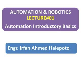 Automation- Originate