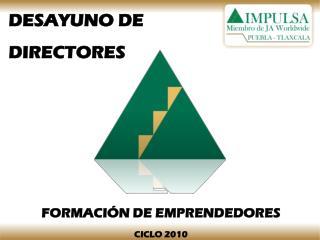 DESAYUNO DE  DIRECTORES
