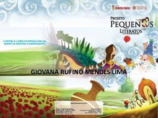 GIOVANA RUFINO MENDES LIMA
