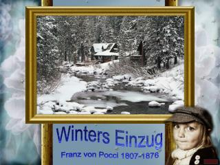 Winters Einzug