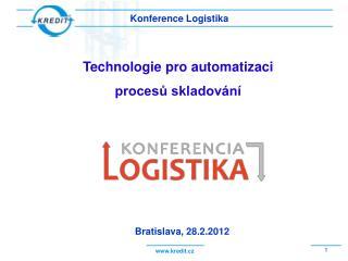 Konference Logistika