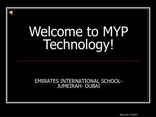 EMIRATES INTERNATIONAL SCHOOL- JUMEIRAH- DUBAI