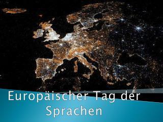 Europ�ischer Tag der Sprachen