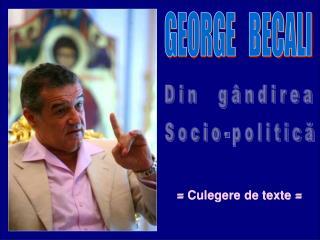 GEORGE   BECALI