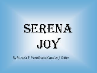 Serena Joy