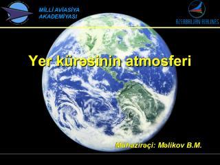 Yer kürəsinin atmosferi