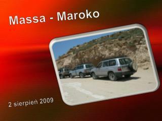Massa - Maroko