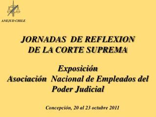 JORNADAS  DE REFLEXION  DE LA CORTE SUPREMA