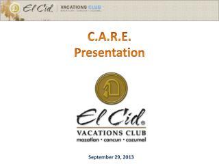 C.A.R.E. Presentation