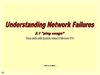 Understanding Network Failures