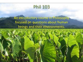 Phil 103