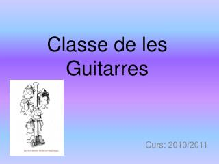 Classe de les Guitarres