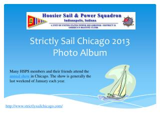 Strictly Sail Chicago 2013 Photo Album