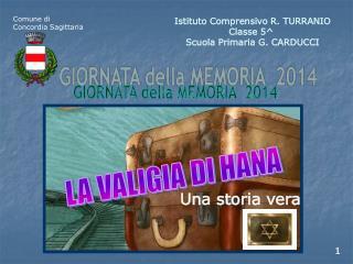 Istituto Comprensivo R. TURRANIO Classe 5^  Scuola Primaria G. CARDUCCI
