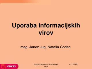 Uporaba informacijskih virov