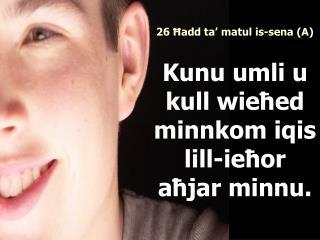 Qari mill-Ktieb  tal-Profeta E ż ekjel
