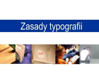 Zasady typografii