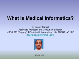 What is Medical Informatics
