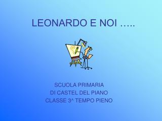 LEONARDO E NOI …..