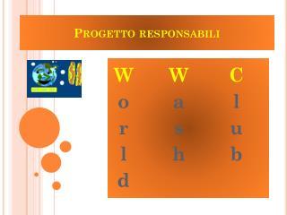 Progetto responsabili