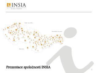 Prezentace společnosti INSIA