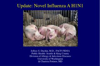 Update: Novel Influenza A H1N1