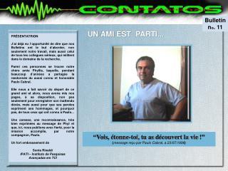 Bulletin n o . 11