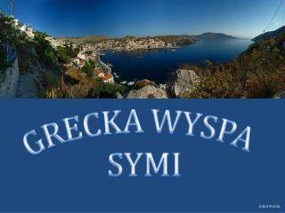 GRECKA WYSPA  SYMI