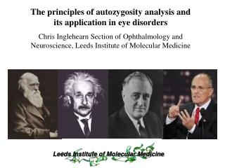 The principles of autozygosity analysis and its application in eye disorders